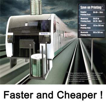 MantraJet Auto Disc Printer- 50 Disc Capacity