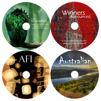 Matte Satin watershield Printable DVD-R